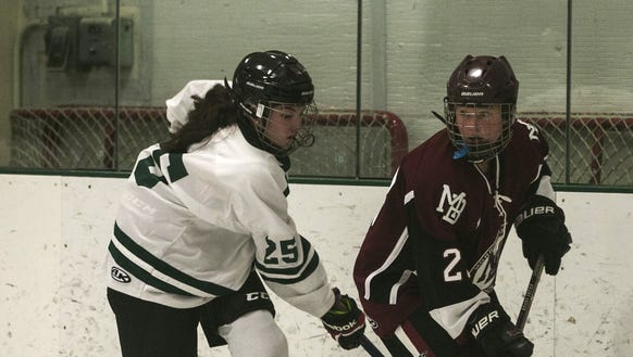 Kent Place's Caroline Lubow and Morristown-Beard junior