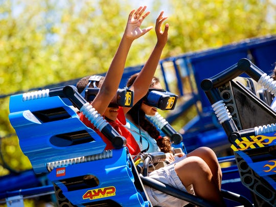 WINTER HAVEN, FL -- March 22, 2018 -- The Great LEGO Race at LEGOLAND Florida Resort.  (PHOTO / LOCK + LAND, Chip Litherland for LEGOLAND Florida Resort)