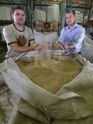 Adam Filippetti, founder and maltster, and his brother,