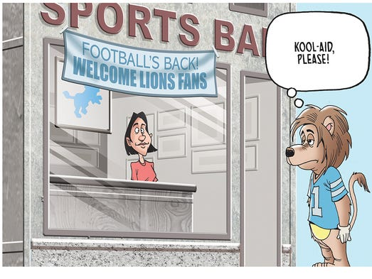 Lions football is back!  Check out the winner of our