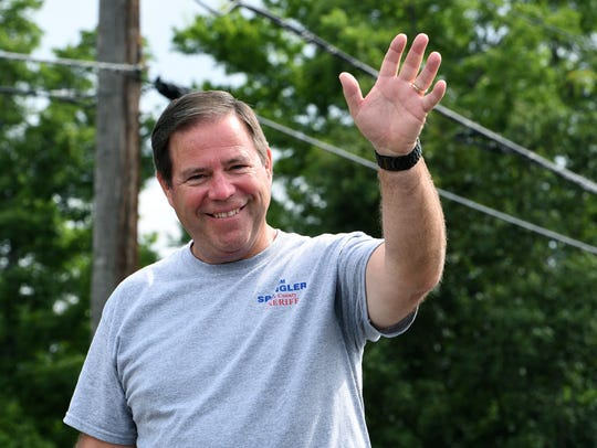 Tom Spangler attends the 30th annual Town of Farragut