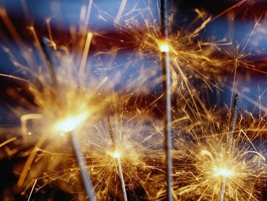 STOCK-Fireworks