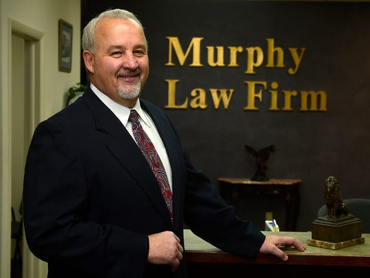 Tom Murphy, owner of Murphy Law Firm at 619 2nd Ave.