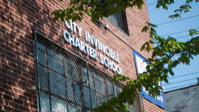 Exterior shots of City Invincible Charter School, May 8, 2014 in Camden.