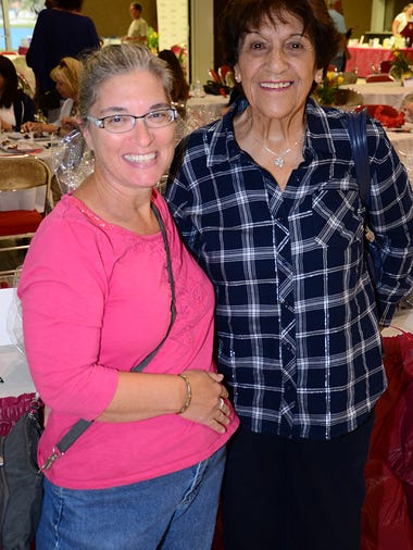 Lisa Silva and Marry Ann Pellerin enjoyed the Sunday
