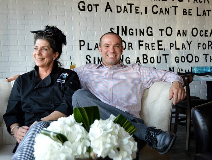 Blackwall Hitch's executive chef, Aileen Delario, and