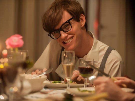 Eddie Redmayne as Stephen Hawking in 'The Theory of Everything.'
