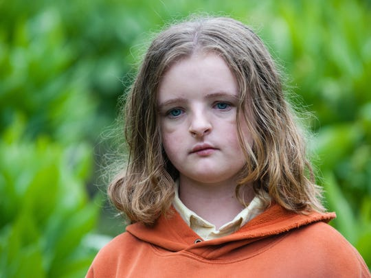 """Charlie (Milly Shapiro) is haunted by a family curse after her grandma dies in """"Hereditary."""""""
