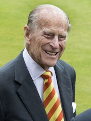 Prince Philip opened a new viewing stand at Lord's