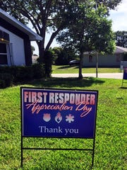 First Responders Appreciation Day is held one Friday every month.