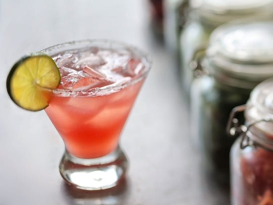 The Baba-rita cocktail at Babalu is Patron Silver Tequila,