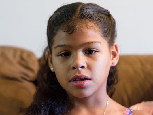 Nine-year-old Jasella Ortiz, of Newark, saved her father's life by calling 911 when he pulled his car to the side and started having seizures. Turned out her father, Oscar, had a brain tumor.