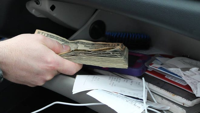"""The Wichita Falls Police Department said """"bank jugging"""" is on the rise where suspects take a person's cash when it is unattended or they take the cash by force when a person is leaving a bank."""
