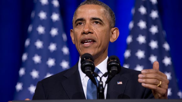 President Obama speaks about National Security Agency