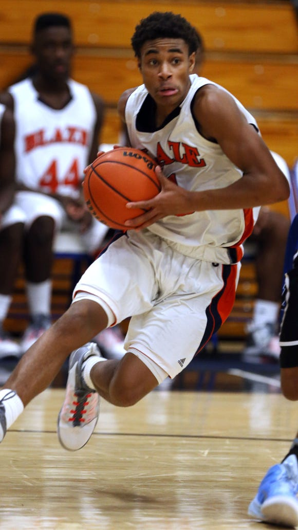 Blackman's Cedriontis Wilson returns as the Blaze's returning leading scorer.