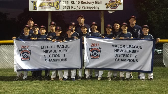 Wayne's Little League team will face off against three other section champions to determine who will represent the state in the 2017 Little League World Series regional tournament.