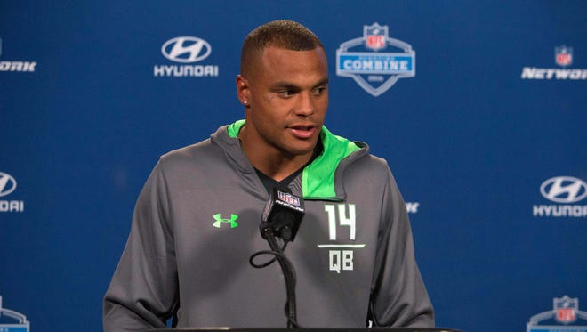 Former Mississippi State quarterback Dak Prescott made a statement Sunday regarding his DUI arrest.