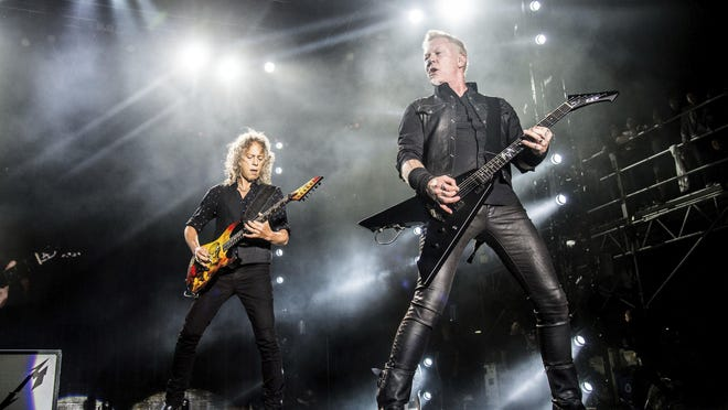 Metallica's sold-out headlining set at Columbus' Mapfre Stadium in 2017 will kick off the online series Offstage with DWP.