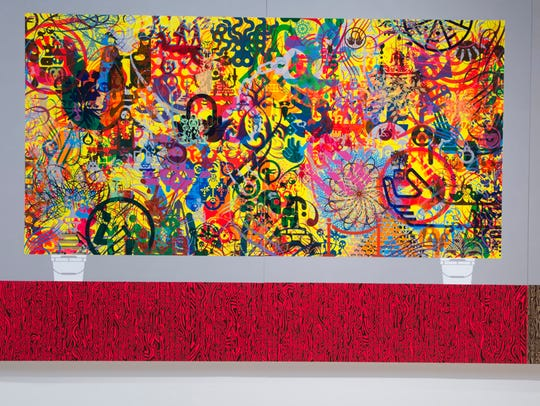"""Ryan McGinness: Studio Views"" at Cranbrook Art Museum."