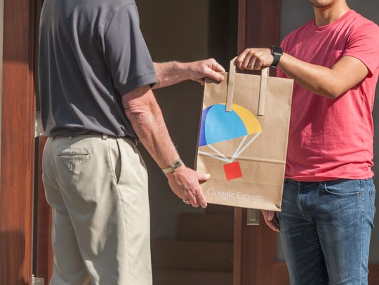 Google Express same-day and overnight delivery service
