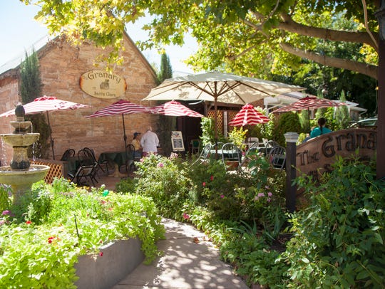 The Granary restaurant in Santa Clara offers outdoor