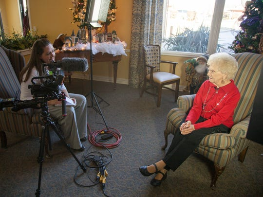 Residents at The Meadows share their favorite Christmas memories Wednesday, Dec. 16, 2015.