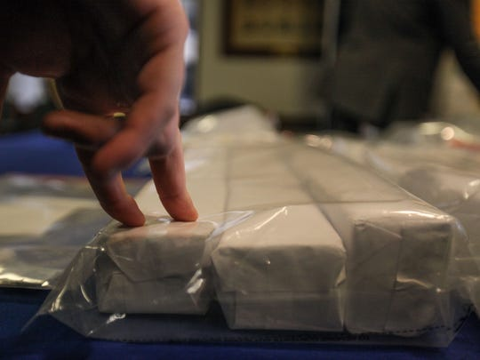 Delaware makes the largest seizure of prepackaged heroin, 48,800 bags worth $488,000, in state history.