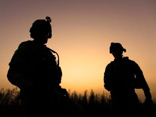 AP MIDEAST IRAQ US TROOPS I IRQ