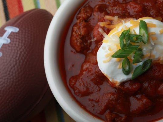 Super Easy Beef Chili.