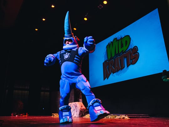 """""""Wild Kratts Live!"""" builds on the TV show's theme of exploring animal's """"creature powers."""""""
