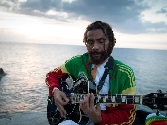 HR, the lead singer of Bad Brains, is featured in the