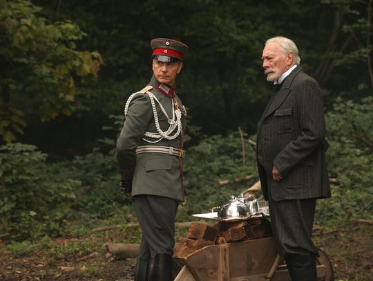 Ben Daniels (left) and Christopher Plummer star in