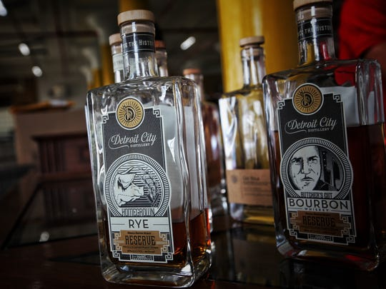 Detroit City Distillery incorporates the honey produced by the 40,000 bees on itsroof in some of their drinks.