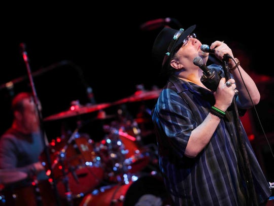Vocalist and harmonica player John Popper has led Blues