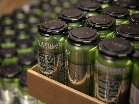 Fiddlehead Brewing's Second Fiddle double IPA will