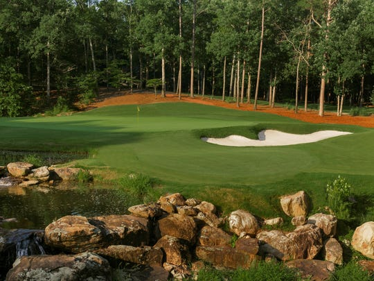 The 17th Hole of Shoal Creek Golf Club in the Shoal Creek, Ala.(Copyright USGA/Russell Kirk)