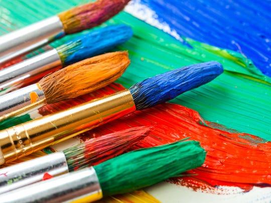 Paint brush art
