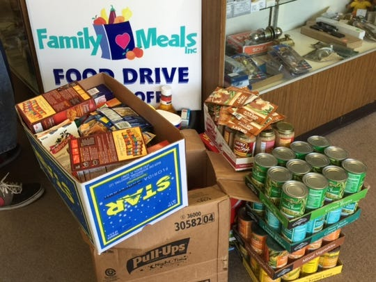 Ronald Engel, Family Meals Food Drive chairperson,