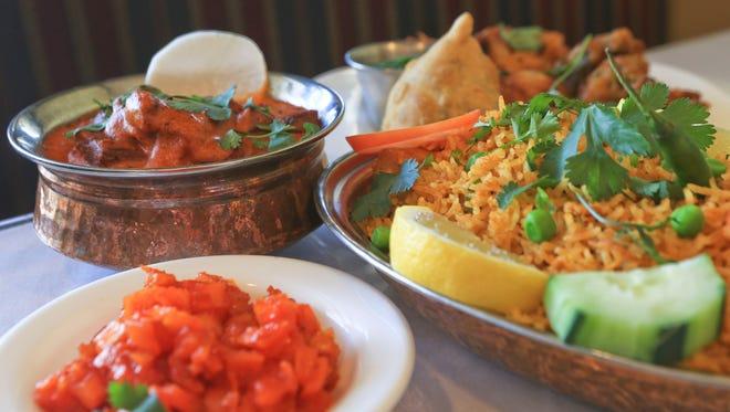 Shalimar Indian restaurant features staples such as lamb tikka masala, chicken biryani and vegetarian appetizers such as veg samosa, veg pakora, onion bhajhi, aloo tikki and paneer pakora at Shalimar at 1850 S. Hurstbourne Parkway.