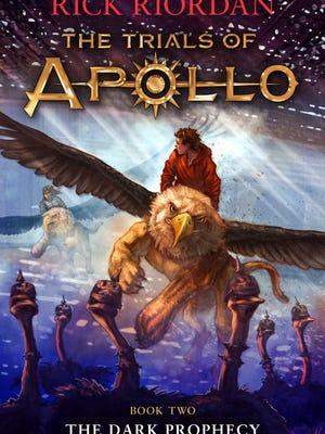 'The Dark Prophecy, The Trials of Apollo' by Rick Riordan