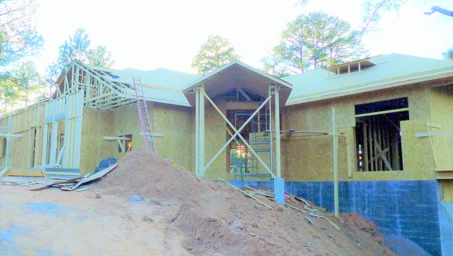 New construction continues to add value to the county.