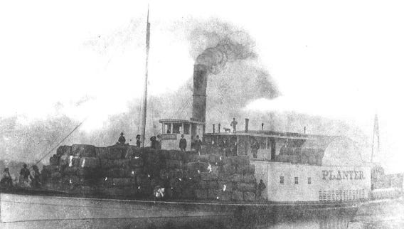 Planter in 1870 at Georgetown, S.C.