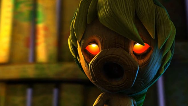"""The Legend of Zelda: Majora's Mask 3DS"" sports a darker, gloomier tale compared to typical Nintendo fare."