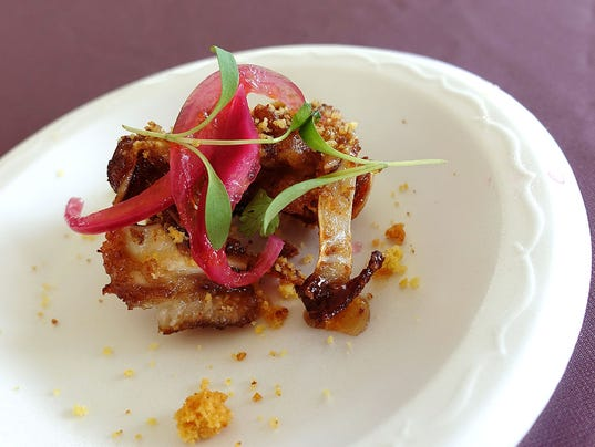 Crispy pig ears from Citizen Public House at the 2017 azcentral Food & Wine Experience