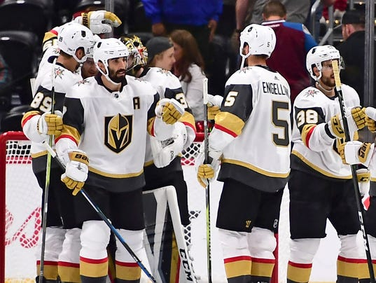 USP NHL: PRESEASON-VEGAS GOLDEN KNIGHTS AT COLORAD S HKN COL USA CO