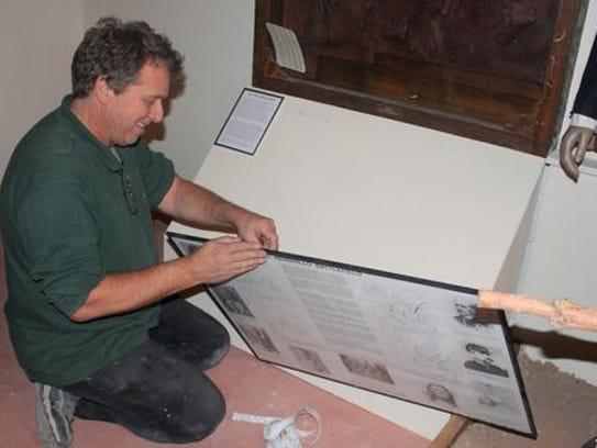 Tularosa Basin Historical Society Vice President Joe