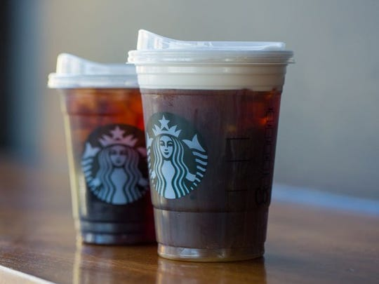 Starbucks' new strawless lid.