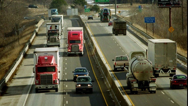 Nearly all truck tires have been built for a maximum sustained speed of 75 m.p.h. since the middle of last decade.