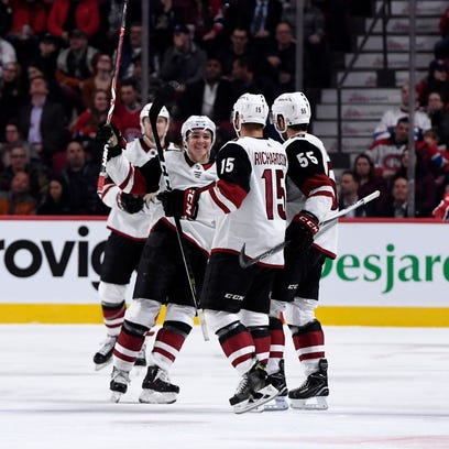 The Coyotes have some forward momentum for the first