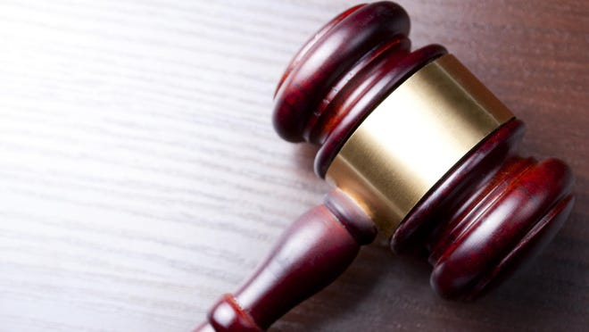 Stock image of a judge's gavel.